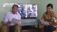Gặp nghệ nhân ưu tú sáng tác ca khúc 'Chúng ta chống dịch' theo làn điệu dân ca xứ Nghệ
