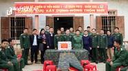 Bộ CHQS tỉnh tặng quà, thăm hỏi, động viên cán bộ, chiến sỹ Lữ đoàn pháo binh 16 và Lữ đoàn Tăng Thiết giáp 206