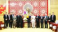 Đoàn lãnh đạo cấp cao tỉnh Savannakhẹt (Lào) chúc Tết tỉnh Nghệ An