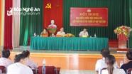 Cử tri huyện Nghi Lộc đề nghị niêm yết công khai mức giá đền bù trong giải phóng mặt bằng