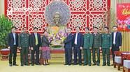 Lãnh đạo các tỉnh Hủa Phăn, Xay Sổm Bun, Khăm Muộn (Lào) chúc Tết tỉnh Nghệ An