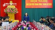 Trưởng Ban Tuyên giáo Tỉnh ủy: Cung cấp kịp thời thông tin chính xác đến mọi tầng lớp nhân dân