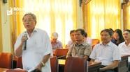 Các nhà khoa học, văn nghệ sỹ góp ý Dự thảo Báo cáo chính trị của BCH Đảng bộ tỉnh Nghệ An