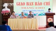 Báo chí Nghệ An tiếp tục tập trung tuyên truyền sự kiện bầu cử đại biểu dân cử