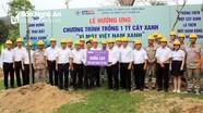 Tổng Công ty Điện lực miền Bắc tặng 50 cây ban trắng cho Khu Di tích lịch sử Quốc gia Truông Bồn