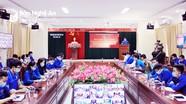 Tỉnh đoàn Nghệ An quán triệt Nghị quyết Đại hội XIII và phát động thi đua chuyên đề