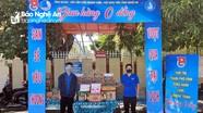 Tuổi trẻ Nghệ An triển khai 'Gian hàng 0 đồng' hỗ trợ các khu vực cách ly