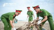 Đoàn viên thanh niên Công an tỉnh chung tay bảo vệ môi trường