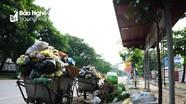 Nhếch nhác, ô nhiễm nghiêm trọng tại nhiều bãi tập kết rác thải ở TP. Vinh