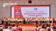 Danh sách các đại biểu Nghệ An dự Đại hội toàn quốc các dân tộc thiểu số Việt Nam