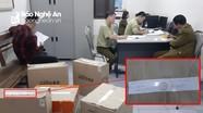 Quản lý thị trường Nghệ An tạm giữ 5 thùng hàng tại buổi 'giới thiệu sản phẩm và tặng quà miễn phí'