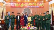 Báo Nghệ An chúc Tết Bộ đội Biên phòng và Bộ Chỉ huy Quân sự tỉnh