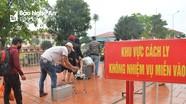 Cận cảnh bên trong khu cách ly tập trung của công dân từ nước ngoài về Nghệ An