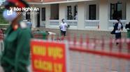 Cuộc sống trong khu cách ly tập trung quân đội phòng dịch Covid-19 ở Nghệ An