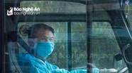 Người lính lái xe trên tuyến đầu chống dịch ở Nghệ An