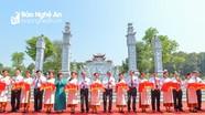 Khánh thành Đền Chung Sơn - Đền thờ gia tiên Chủ tịch Hồ Chí Minh