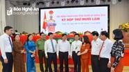 Phiên khai mạc kỳ họp thứ 15, HĐND tỉnh Nghệ An khóa XVII, nhiệm kỳ 2016 -2021