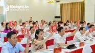HĐND tỉnh Nghệ An bầu bổ sung 2 Ủy viên UBND tỉnh nhiệm kỳ 2016 - 2021