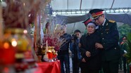 Đón liệt sĩ người Nghệ hy sinh khi cứu nạn ở Rào Trăng 3 về đất Mẹ