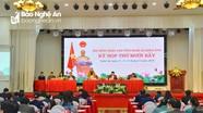 Kỳ họp thứ 17, HĐND tỉnh Nghệ An khóa XVII tổ chức thảo luận tại hội trường