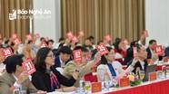 Danh sách 25 nghị quyết được thông qua tại kỳ họp thứ 17, HĐND tỉnh khóa XVII