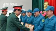 UBND thành phố Vinh tổng kết công tác quốc phòng - an ninh