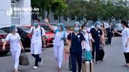 Video: 52 cán bộ y tế Nghệ An chi viện Hà Tĩnh chống dịch Covid-19