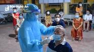 Ca mắc Covid-19 mới ở huyện Diễn Châu từng đến nhiều nơi, tiếp xúc rất nhiều người