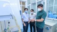 Thứ trưởng Bộ Y tế kiểm tra công tác phòng chống dịch Covid-19 tại BV ĐK TP. Vinh và CDC Nghệ An