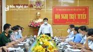 Quỳnh Lưu đề xuất giãn cách xã hội toàn huyện và cách ly xã hội 2 xã