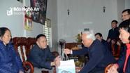Phó Chủ tịch Quốc hội Uông Chu Lưu thăm, tặng quà Tết tại huyện Anh Sơn