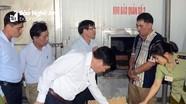 Đoàn liên ngành Trung ương kiểm tra an toàn thực phẩm tại Nghệ An