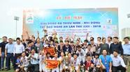 Lễ khai mạc Giải Bóng đá TN-NĐ Cúp Báo Nghệ An 2019 sẽ diễn ra trên sân Vinh