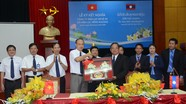Công ty Điện lực Nghệ An kết nghĩa cùng Điện lực Xiêng Khoảng