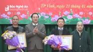 Hội Cựu Thanh niên xung phong Nghệ An kỷ niệm 50 năm Bác Hồ gửi thư khen Đại đội 333 N69