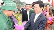 Ấm áp ngày hội tòng quân ở huyện Nghi Lộc