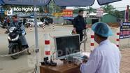 Một bệnh viện ở Nghệ An cải tiến máy đo thân nhiệt để phòng, chống Covid-19