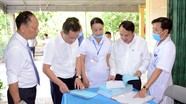 Ngành y tế kiểm tra công tác phòng, chống dịch Covid-19 tại huyện Thanh Chương