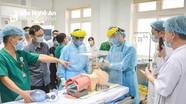 Nghệ An cử 16 y bác sỹ, kỹ thuật viên 'tiếp viện' Đà Nẵng chống Covid-19