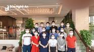 16 cán bộ y tế Nghệ An hoàn thành xuất sắc nhiệm vụ trợ giúp Đà Nẵng chống dịch Covid-19