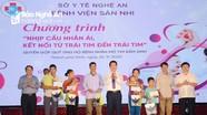 Bệnh viện Sản Nhi Nghệ An tổ chức nhịp cầu nhân ái, giúp đỡ trẻ mắc bệnh tim bẩm sinh