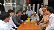 Ủy ban An toàn giao thông Quốc gia thăm hỏi gia đình nạn nhân vụ tai nạn ở cầu treo