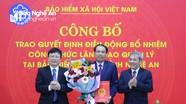 Công bố quyết định bổ nhiệm Giám đốc Bảo hiểm xã hội tỉnh Nghệ An