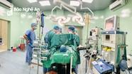 Bệnh viện Sản Nhi Nghệ An cứu sống nạn nhân bị bồn nước đè sập lên người