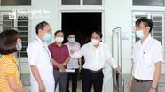 Sở Y tế kiểm tra khu cách ly, điều trị phòng, chống Covid-19 tại 4 huyện, thị xã