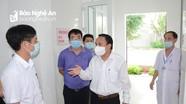 Nghệ An phê bình 5 bệnh viện xem nhẹ nhiệm vụ phòng, chống dịch Covid-19