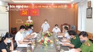 Giãn cách xã hội theo Chỉ thị 15 toàn huyện Diễn Châu