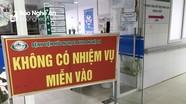 Bệnh viện HNĐK Nghệ An nhanh chóng triển khai biện pháp chống dịch khi phát hiện ca dương tính