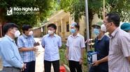 Phó Chủ tịch UBND tỉnh kiểm tra công tác phòng, chống dịch tại bản Chăm Puông