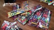Bắt giữ hàng trăm đồ chơi bạo lực nguy hiểm ở thành phố Vinh